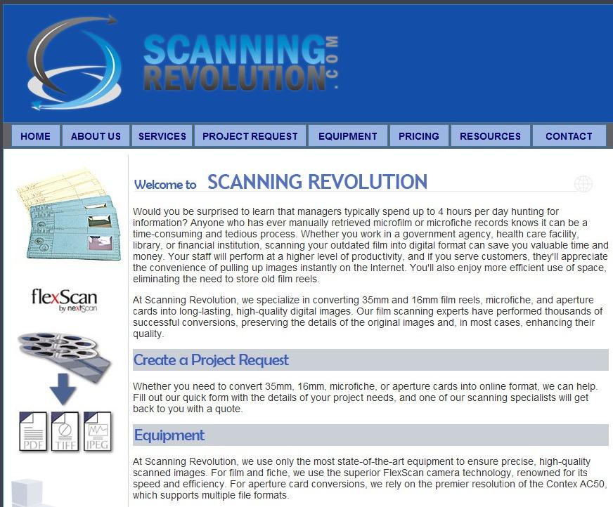 Web Copy: Document Scanning