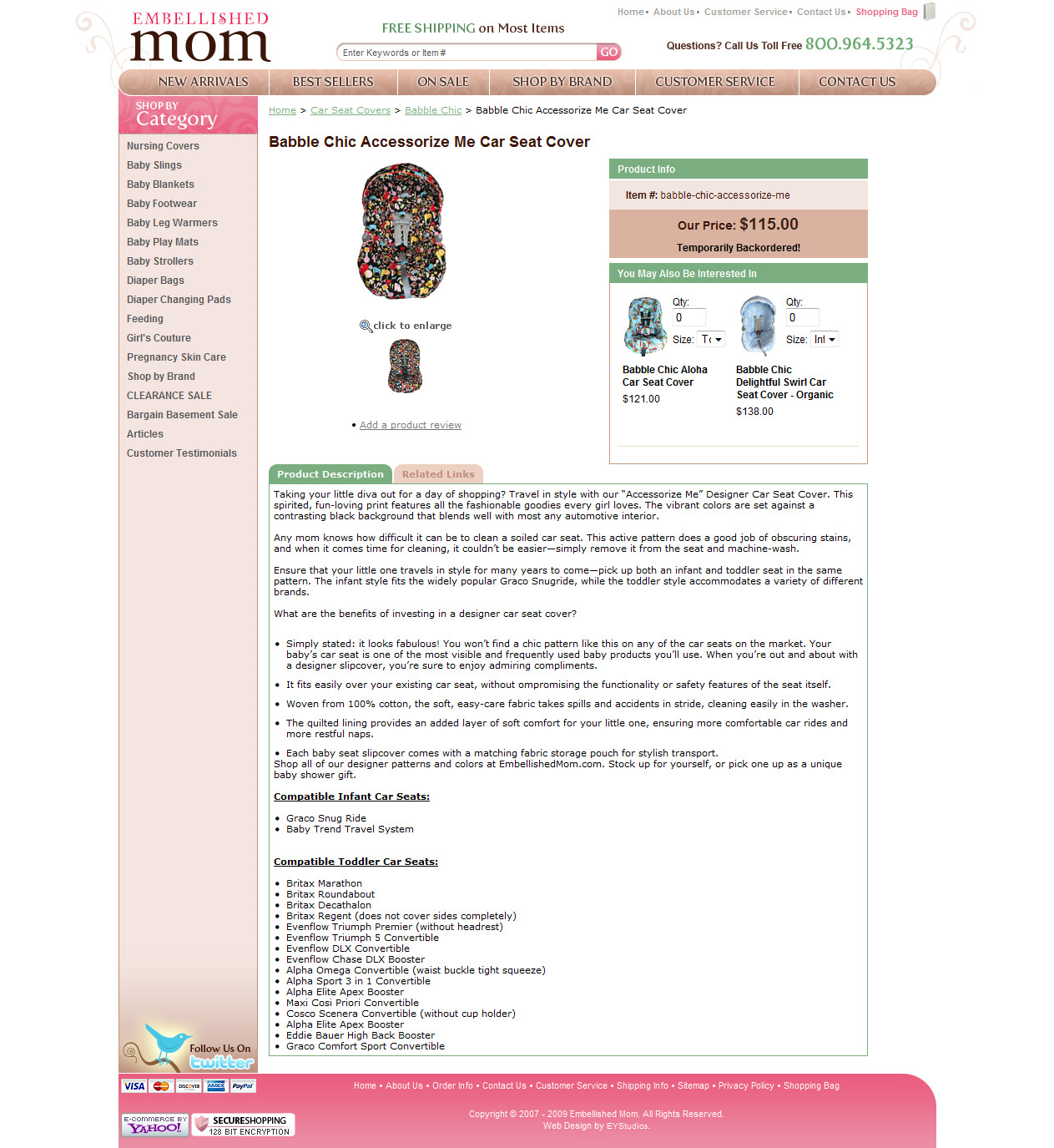 Product Description: Baby/Maternity