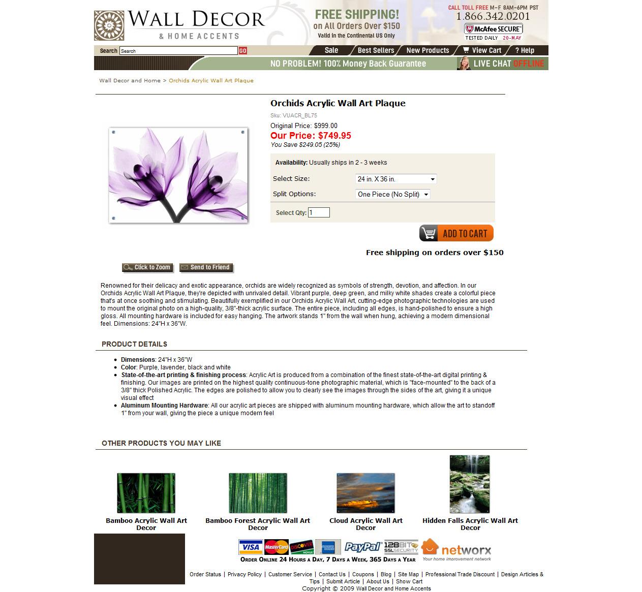Product Description: Wall Art